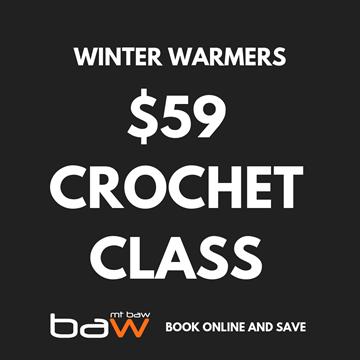 Picture of 3hr Crochet Class - $59 per person -  June 28th