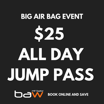 Picture of All Day Jump Pass - Big Air Bag Charity Event