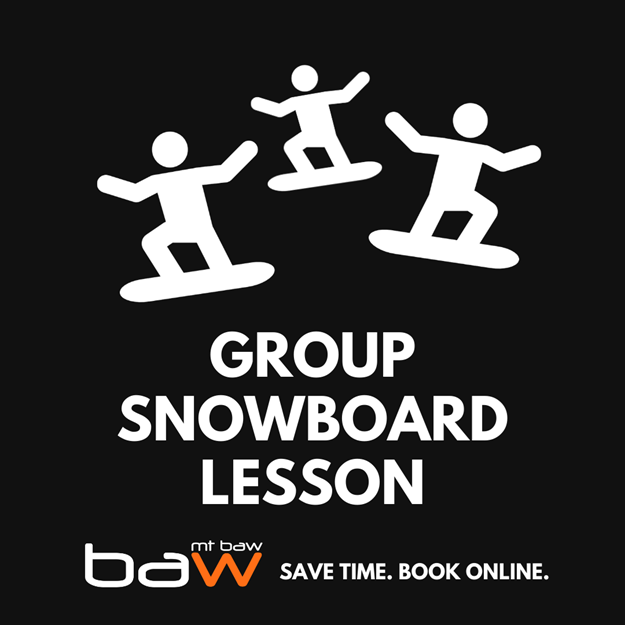 Picture of Snowboard 1 hour Group Lesson