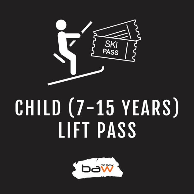 child ski snowboard pass australia