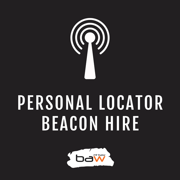 PLB beacon hire hiking mt baw baw